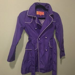 Purple Long Coat for youth Girls 10/20